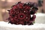 trandafiri bordo