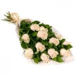 trandafiri crem